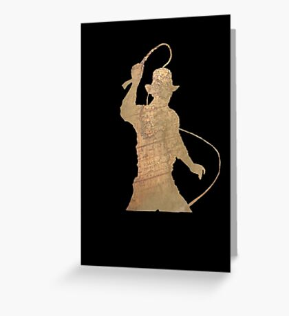 Indiana Jones- Trilogy (Variant two) Greeting Card