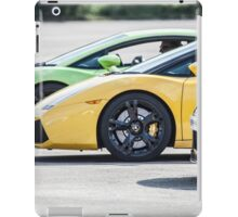 3 Supercars iPad Case/Skin