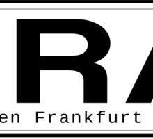 FRA Flughafen Frankfurt am Main Sticker