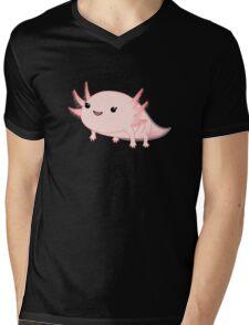 Axolotl baby kawaii Mens V-Neck T-Shirt