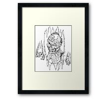 Here Comes The Dead Framed Print
