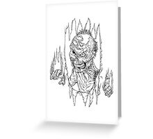 Here Comes The Dead Greeting Card