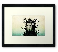 Doctor Who Work Tardi Framed Print