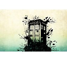 Doctor Who Work Tardi Photographic Print