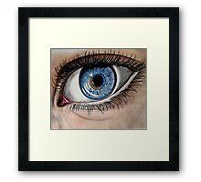 Blue Eye Framed Print