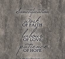 Sanctification by inhonoredglory