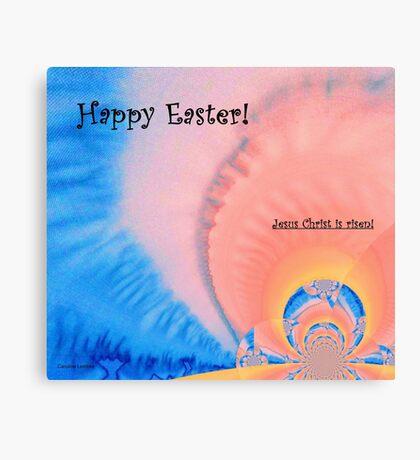 "Easter Card ""Resurrection"" Canvas Print"