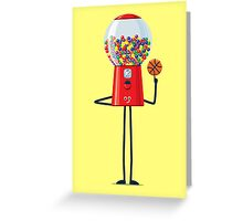 Character Building - Gumball Basketballer Greeting Card