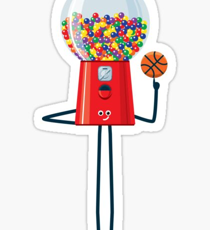 Character Building - Gumball Basketballer Sticker