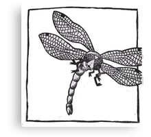 Graphic Dragonfly Canvas Print