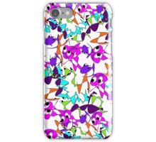 Funny Cute Abstract Colorful Doodle  iPhone Case/Skin
