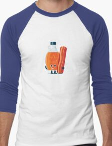 Character Building - Maple & Bacon Men's Baseball ¾ T-Shirt