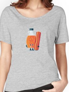 Character Building - Maple & Bacon Women's Relaxed Fit T-Shirt