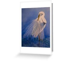 Princess of the mist Greeting Card