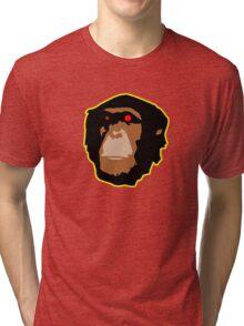 Zombied Chimp Tri-blend T-Shirt