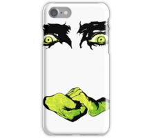 White Zombie (1930s Zombie Film - eyes and hands only) iPhone Case/Skin
