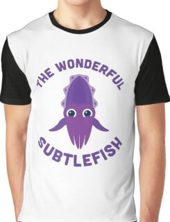 Character Building - The Wonderful Subtlefish Graphic T-Shirt