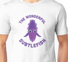 Character Building - The Wonderful Subtlefish Unisex T-Shirt