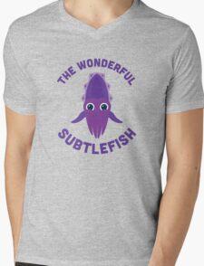 Character Building - The Wonderful Subtlefish Mens V-Neck T-Shirt