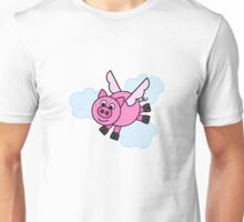 And Pigs Might Fly! Unisex T-Shirt