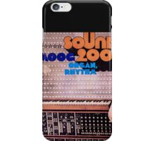moog sound 2000 iPhone Case/Skin