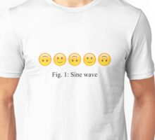 Sine Wave Unisex T-Shirt
