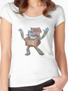 Box Troll Women's Fitted Scoop T-Shirt
