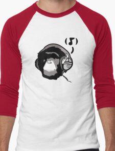 Chimp Tunes Men's Baseball ¾ T-Shirt