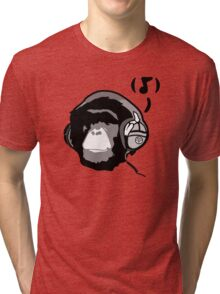 Chimp Tunes Tri-blend T-Shirt