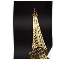 Eiffel Tower Night Edition 1 Poster