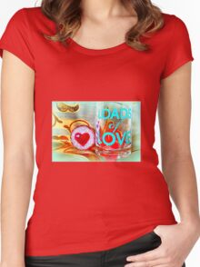 LOADS of LOVE Women's Fitted Scoop T-Shirt