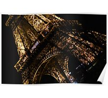 Eiffel Tower Night Edition 2 Poster