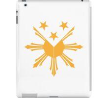Pinoy Sun and Stars Filipino cote of arms design iPad Case/Skin