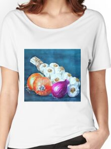 Alliums Women's Relaxed Fit T-Shirt