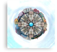 Small World In The Clouds Metal Print