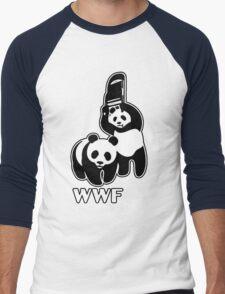 WWF [Alternative Version] Men's Baseball ¾ T-Shirt