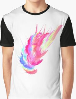 Cotton Candy Fractal Graphic T-Shirt
