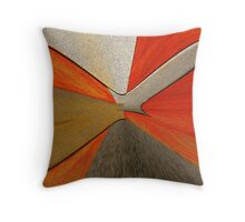 Dial Abstract Throw Pillow