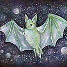 Space Bat  by brettisagirl