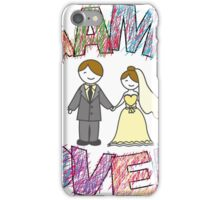 Funny wedding, Game Over. iPhone Case/Skin