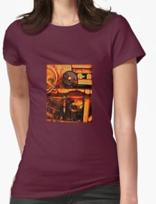Heavey Process Womens Fitted T-Shirt
