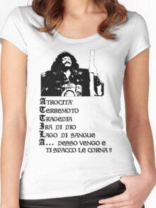 Attila, Flagello di Dio (A) Women's Fitted Scoop T-Shirt
