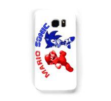 Mario & Sonic, 90's best friends Samsung Galaxy Case/Skin