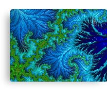 Wading In The Deep Canvas Print