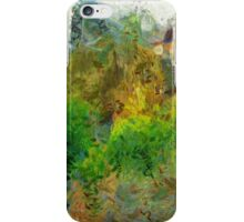 Trees in the neighborhood iPhone Case/Skin
