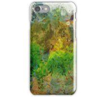 Trees in the neighborhood iPhone Case/Skin