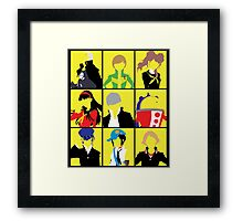 Persona 4 golden cast Framed Print
