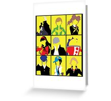 Persona 4 golden cast Greeting Card