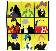 Persona 4 golden cast Poster