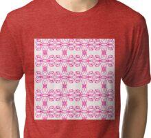 Uterus pattern Tri-blend T-Shirt